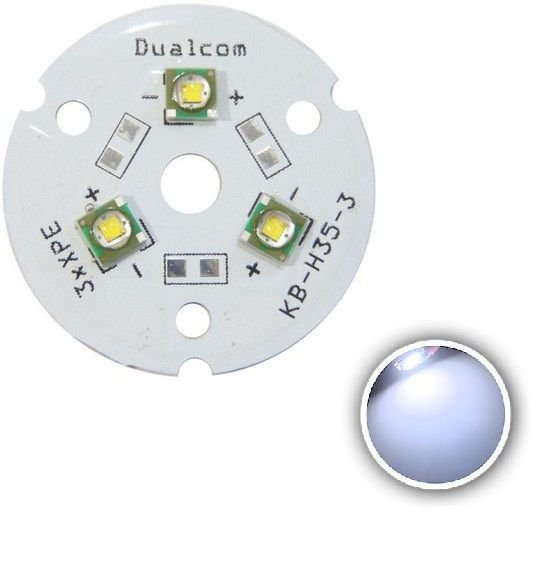 Power LED Cree XPE 9W Branco Frio 8300K (R3) K1674