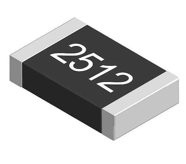 Resistor 2R0 2512 1W 1% SMD K1822