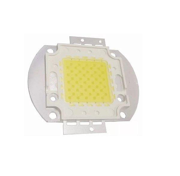 Power LED 50W Branco Quente 3000-3200K 45mils Base Metálica K1754