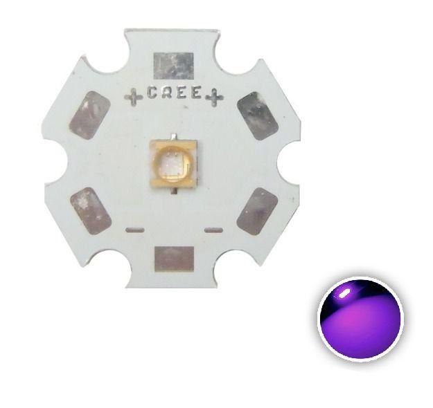 Power LED 3W Ultra Violeta 390-405nm K1926