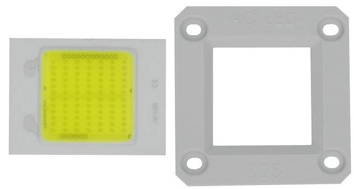 Led 50w Branco Quente 2800-3200k Direct Ac 220v Driverless K2028