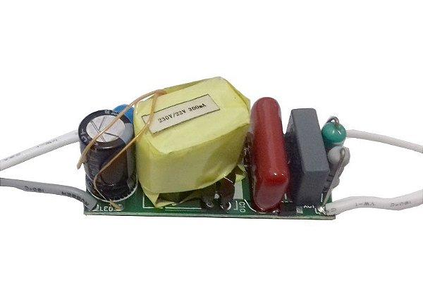 Fonte Driver para 5 A 7 LEDs de 1w Dimerizavel 220V K2017