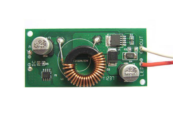 Fonte Driver Para 1 LED De 30W 12-24V K2183