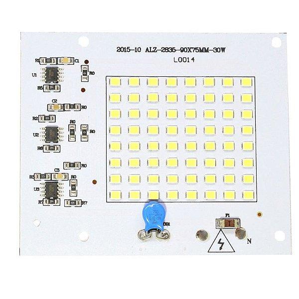 Modulo LED 30W Branco Quente 3000K Driver Integrado 220V K2153