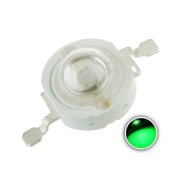 LED 3W Verde 520-530nm K1313