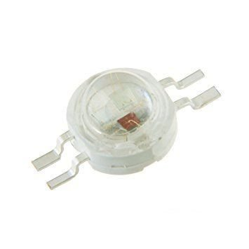 LED RGB 3W (3*1W) 4 PINOS ANODO COMUM SMD Pinagem GRBC K2646