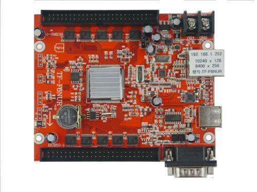 Placa controladora TF-F6NUR + 1x Adaptador HUB-12RG016 Para Painel de LED K2637