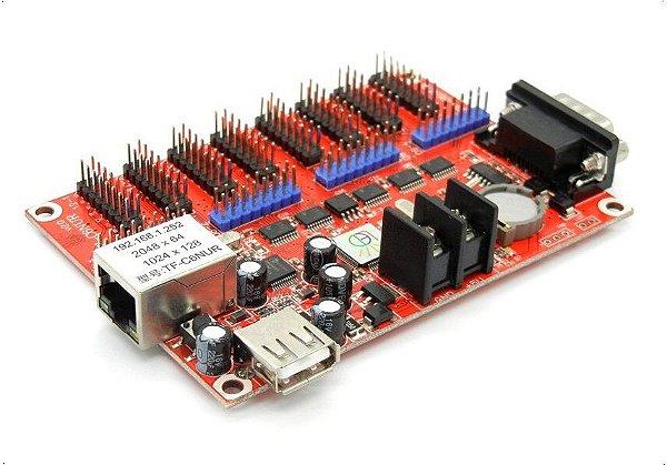 Placa controladora TF-C6NUR 8xHUB12 + 4xHUB08 Para Painel de LED K2636