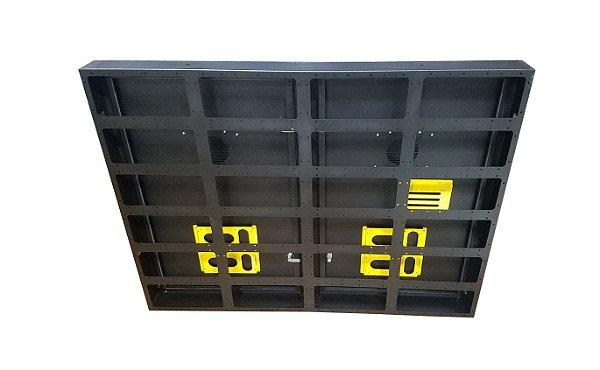 Gabinete Para Painel LED Uso Externo Modular com Portas 128x96cm G0008