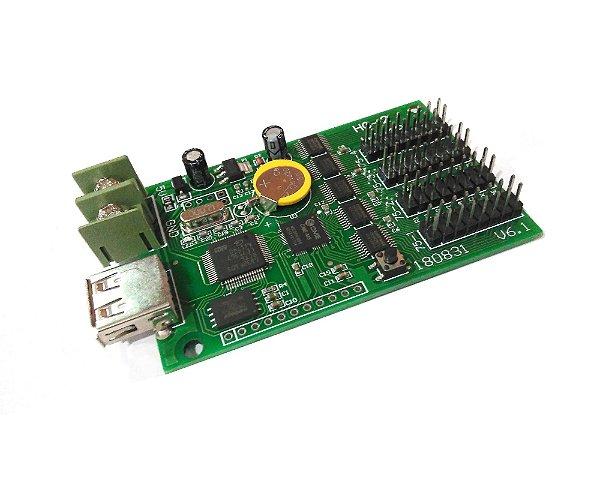 Placa Controladora RGB HC-2 4*HUB75B Para Painel De LED K2681