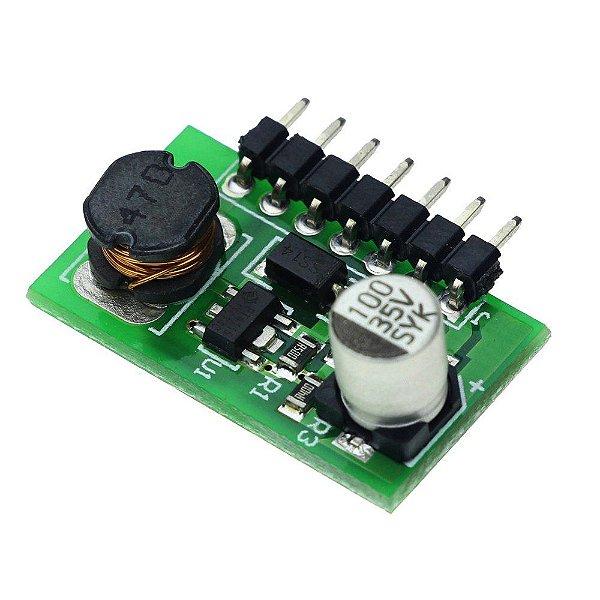 LED Driver Conversor CC-CC Buck Entrada 7 a 30V (12V - 24V) Saida 1.2 a 28V 350mA Dimerizavel PWM K2678