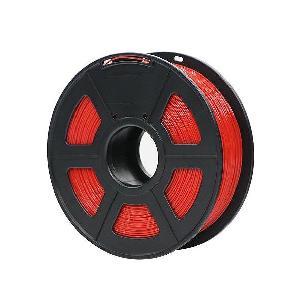 Filamento Plástico Novo PLA 1.75mm Vermelho 1KG HPLRE-101 - 3D0069