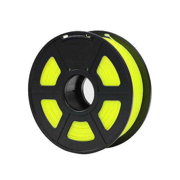 Filamento Plástico Novo PLA 1.75mm Amarelo 1KG HPLYE-101- 3D0068