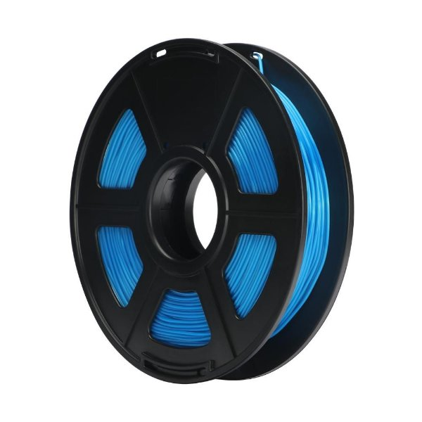 Filamento Plástico ABS 1.75mm Azul Celeste 1KG - 3D0058