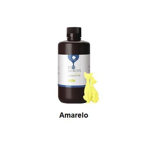 Resina UV 3D Eco Amarela 1L -3D0019