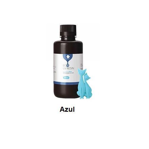 Resina UV 3D Eco Azul 500ml - 3D0009