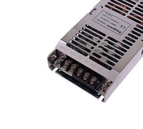 Fonte conversor CC-CC entrada 12V 24V saída 5V 50A modelo TD250-5V automotivo K2760