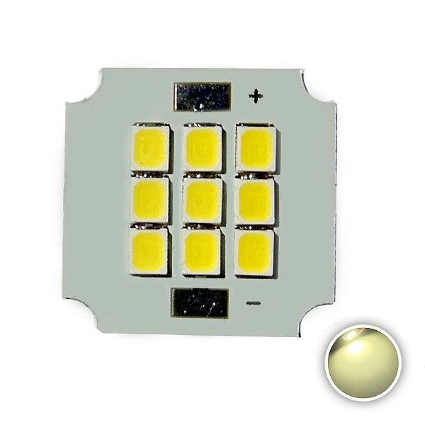 Módulo LED 10W 20x20mm Branco Neutro 4000K K2803