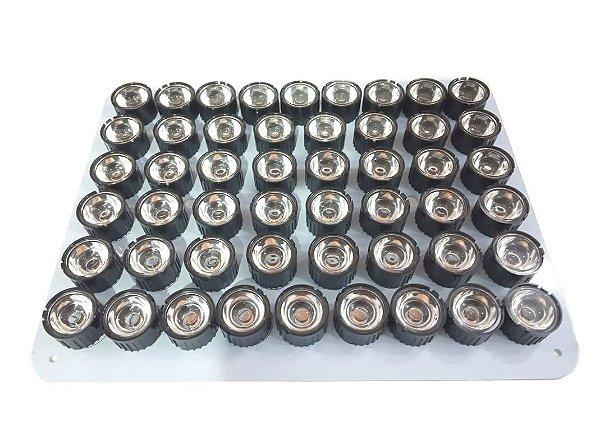 Kit Refletor Luminaria Led Para Aquario Marinho 100w 90 graus X0005