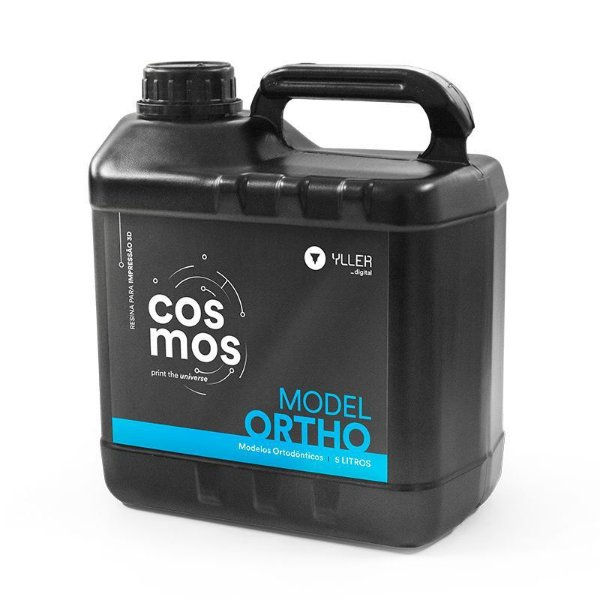 Cosmos Model Ortho Azul - Resina de Impressão 3D para Modelos de estudo - 5 litros
