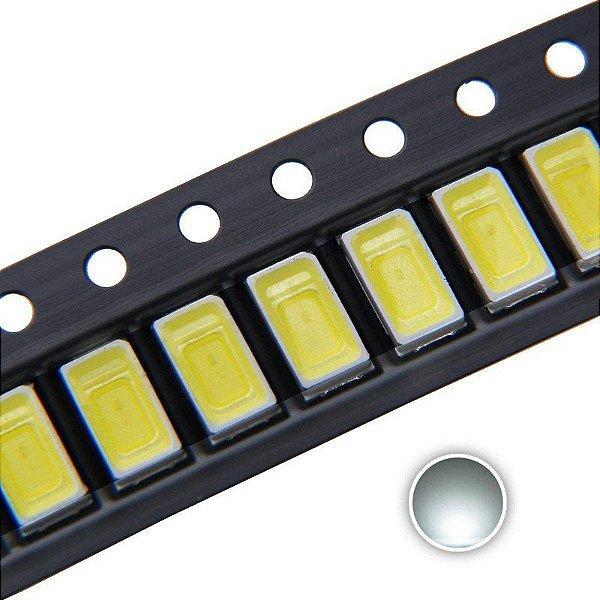 LED 5730 0.5W Branco Frio 12000K15000K 3V SMD K2746