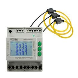 Medidor trifásico multifuncional conectável com bobinas Rogowski MFC150 UPM209RGW