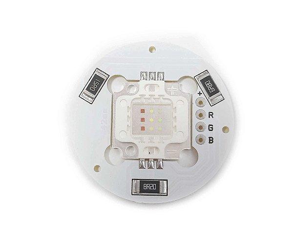 Módulo LED 12W RGB 42mm Redondo K2880