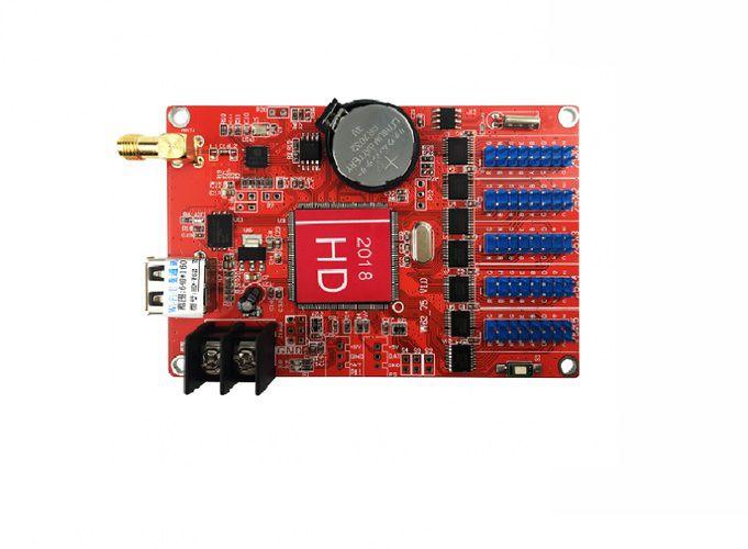 Placa Controladora HD-W62-75 5xHUB75 com Wi-fi Para Painel LEDK2837