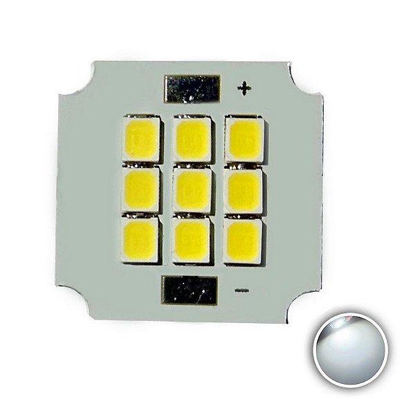 Módulo LED 10W 20x20mm Branco Frio 5000K K2873