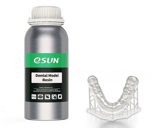 Resina para Impressora 3D para Modelos Dentais 500g Transparente E0040