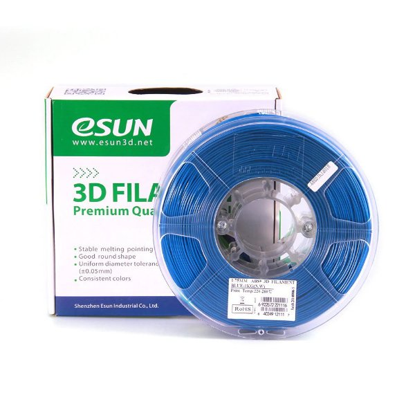 Filamento ABS+ 1.75mm 1kg  Premium Azul E0010
