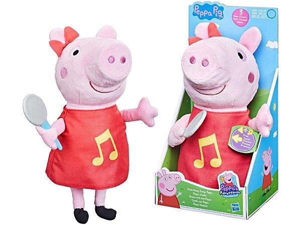 Pelúcia Peppa Musical Hasbro