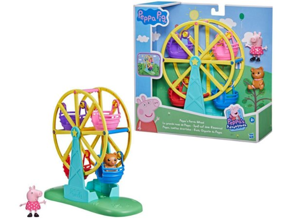 Playset Roda Gigante da Peppa Hasbro 3 Peças