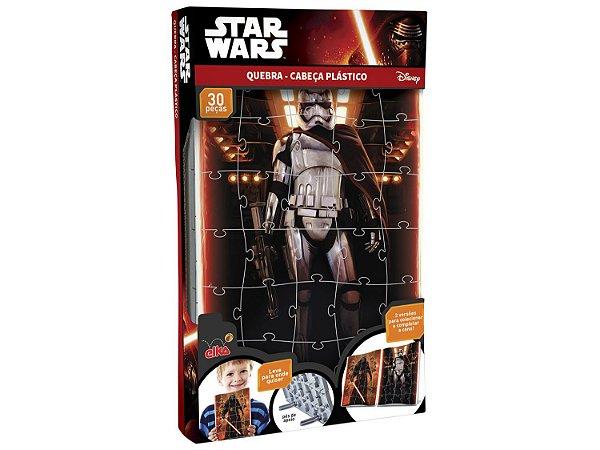 Quebra-Cabeça Plástico Star Wars - Captain Phasma