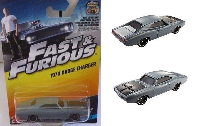 Hot Wheels Velozes e Furiosos - 1970 Dodge Charger