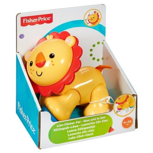 Partas Divertidas - Fisher Price - Leão