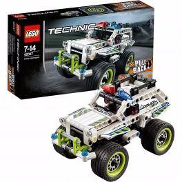 Lego Technic Intercetor Da Polícia - 42047