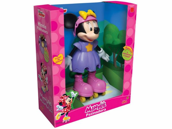 Minnie Patinadora com Som