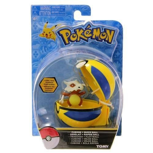Cubone + Pokebola Quick Ball Pokémon