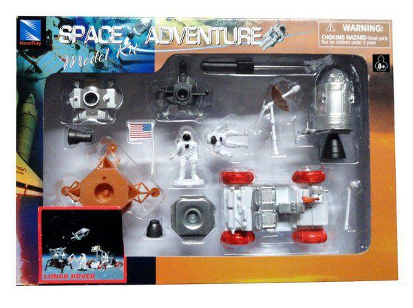 Kit Montar Space Station Lunar Rover