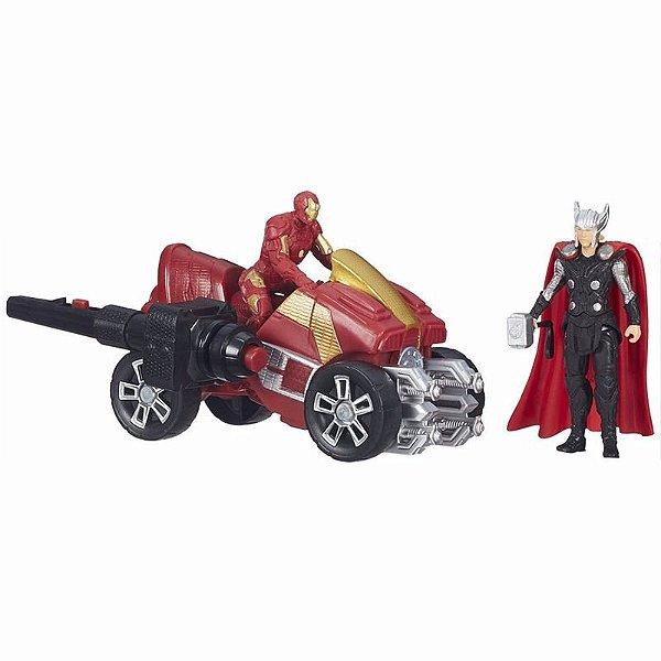 Quadriciclo Thor & Iron Man - Hasbro - Avengers