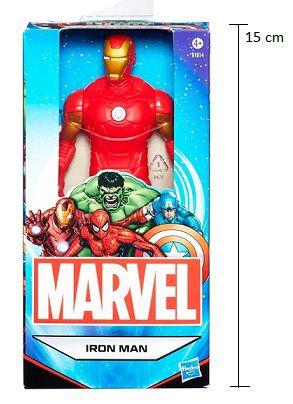 Boneco Homem de Ferro Avengers Marvel Hasbro