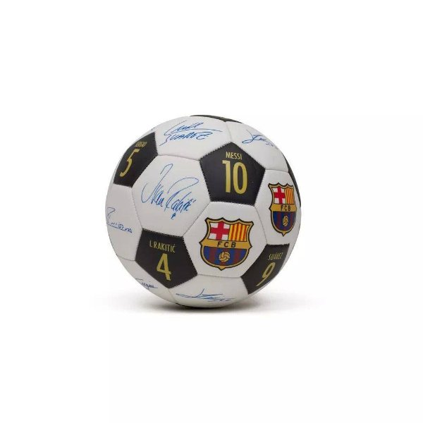 Bola Oficial Barcelona N. 5 - Assinaturas