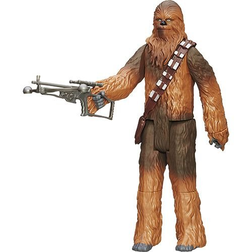 Boneco Star Wars 30cm - Chewbacca com Acessórios - Hasbro