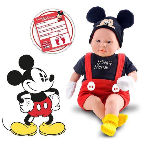 Boneco Mickey Mouse - Recém Nascido
