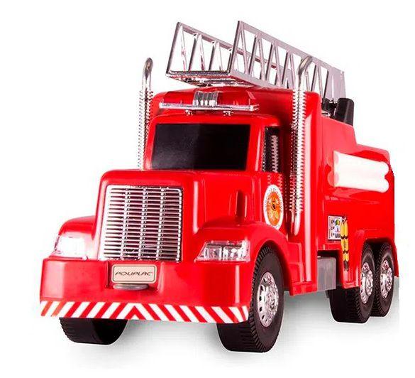Caminhão Bombeiros - Escada Magirus