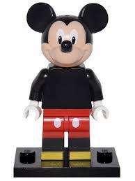 Lego Minifigura Disney n.º 12 Personagem Mickey