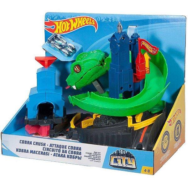 Hot Wheels Pista Ataque de Cobra - Mattel