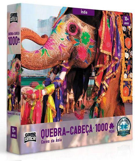 Quebra-Cabeça - Cores da Ásia - INDIA - 1.000 Peças