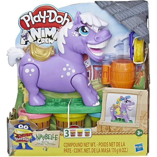 Massinha Play Doh Animal Fazenda Ponei Rodeio - Hasbro